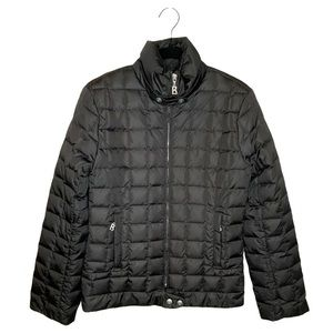 Bogner Quilted Goose Down Filled Black Jacket 4